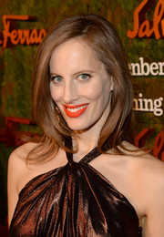 Liz Goldwyn left her hair down in billowy layers when she attended the Wallis Annenberg Center Inaugural Gala.