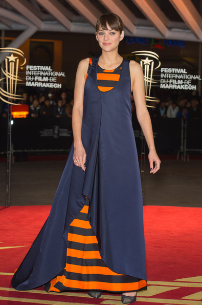 More Pics of Marion Cotillard Evening Dress (1 of 10) - Marion Cotillard Lookbook - StyleBistro