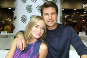 Tom Cruise and Emily Blunt Photo