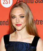 Amanda Seyfried opted for simple styling with this straight center-parted 'do when she attended the opening of 'The Way We Get By.'