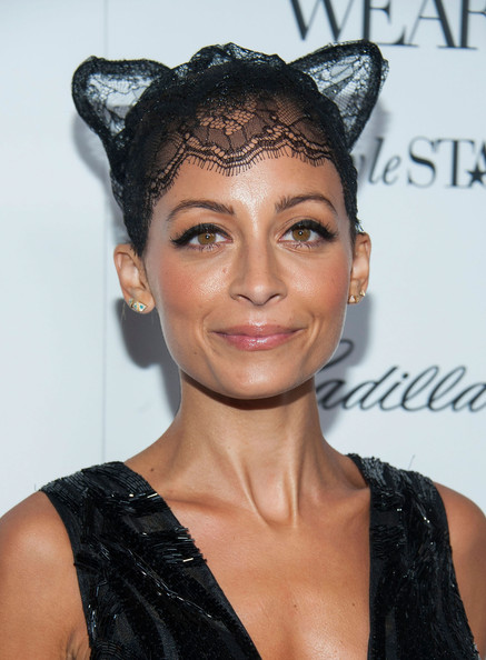 More Pics of Nicole Richie Twisted Bun (1 of 21) - Nicole Richie Lookbook - StyleBistro