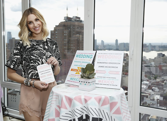 Whitney Port's Wedding Stationery Collection is Here!