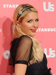 Paris Hilton was a doll at the Hot Hollywood party hosted by 'Us Weekly'. She rocked straight long tresses and topped off her blond locks with a double headband.