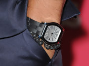 Joe Jonas accented his sharp look with a titanium Belmont timepiece at the 'Us Weekly' Hot Hollywood party.