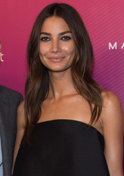 Lily Aldridge wore her long locks with a center part and barely-there waves at the Us Weekly Most Stylish New Yorkers celebration.