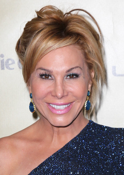 More Pics of Adrienne Maloof Messy Updo (1 of 5) - Updos Lookbook - StyleBistro