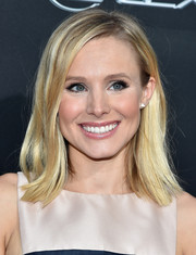 Kristen Bell went for no-frills styling with this straight, shoulder-length 'do at the Lexus Short Films event.