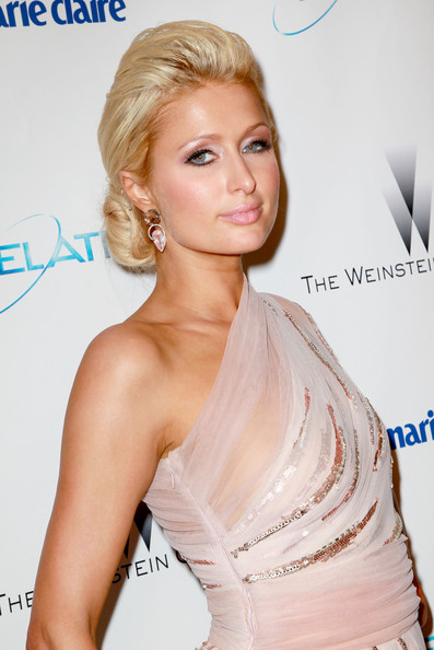 Paris+Hilton in The Weinstein Company And Relativity Media's 2011 Golden Globe Awards Party - Arrivals