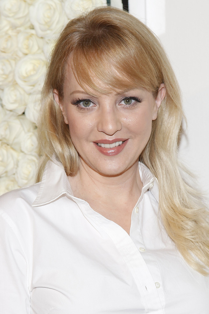 Wendi Mclendon Covey Long Straight Cut With Bangs Long