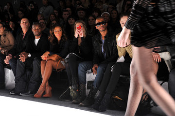 Nigel Barker Tyson Beckford Whitney Eve - Front Row - Fall 2012 Mercedes-Benz Fashion Week