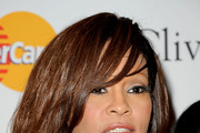 Whitney Houston Wispy Bangs