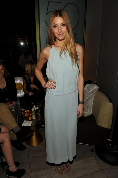 Whitney Port Evening Dress [whitney port,clothing,dress,fashion,shoulder,blond,long hair,leg,event,fashion design,cocktail dress,covergirl celebrates their 50th anniversary - inside,west hollywood,california,boa steakhouse,covergirl 50th anniversary celebration]