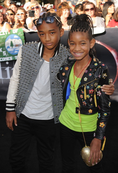 Willow Smith Sequined Purse [the twilight saga: eclipse,fashion,event,premiere,fashion design,outerwear,performance,flooring,competition event,style,jacket,arrivals,jaden smith,willow smith,sister,nokia theatre l.a. live,summit entertainment,l,premiere,premiere]