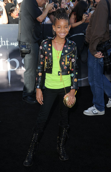 Willow Smith French Manicure