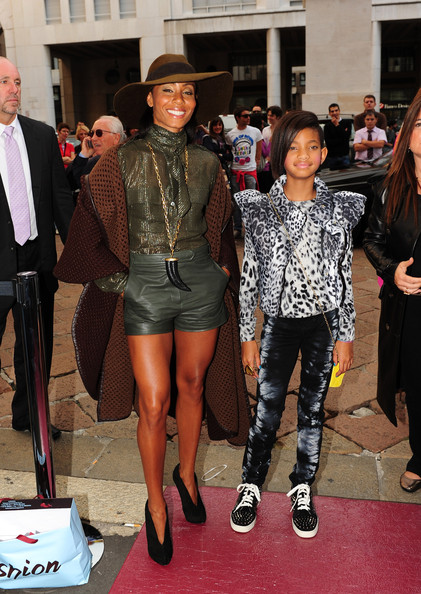 Willow Smith Cropped Jacket