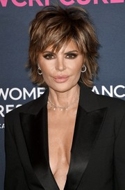 Lisa Rinna always looks stylish with her signature razor cut!
