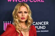 Rachel Zoe framed her face with boho-glam waves for the 2020 Unforgettable Evening Gala.
