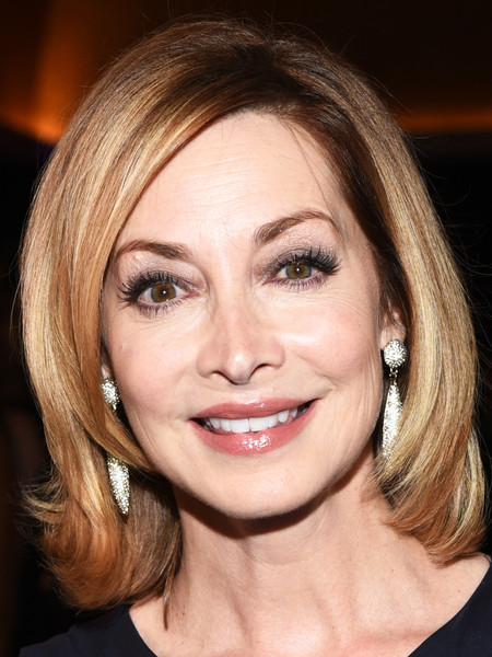 Sharon Lawrence showed off a gorgeous bob at the 2015 Crystal + Lucy Awards.