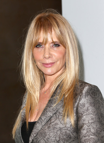 Rosanna Arquette topped off her look with a stylish layered cut when she attended the 2016 Crystal + Lucy Awards.