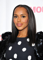 Kerry Washington kept it simple with this pin-straight 'do at the Women Making History Awards.