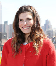 Lake Bell sported mussed-up waves during the Women's Film Brunch.