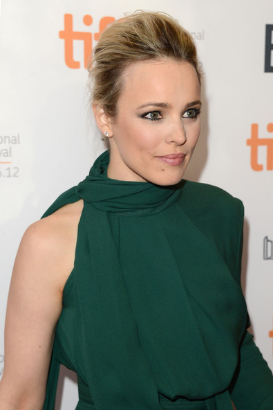 More Pics of Rachel McAdams French Twist (1 of 27) - Rachel McAdams Lookbook - StyleBistro