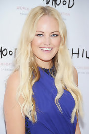 Malin Akerman hit the World Childhood Foundation USA Gala with her lengthy locks in flowing waves.