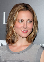 Eva Amurri showed off her medium length hair.