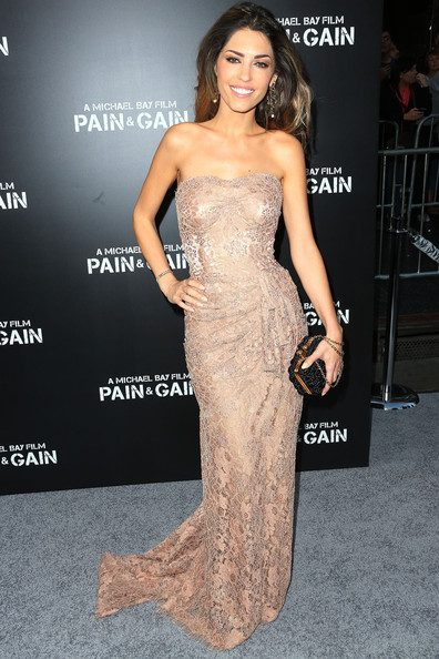 Yolanthe Cabau Strapless Dress