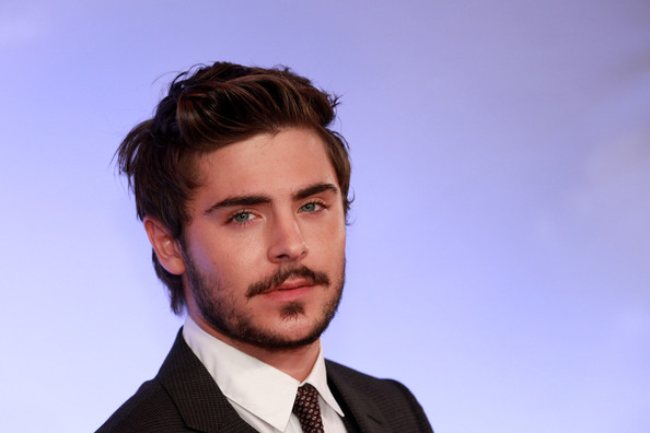 Zac Efron Messy Cut