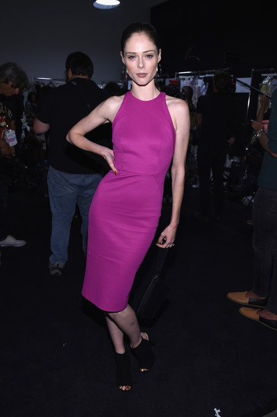Coco Rocha at Zac Posen