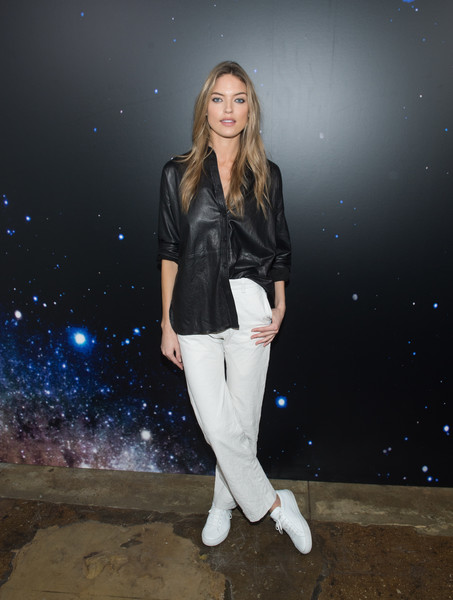 Martha Hunt at Zadig & Voltaire