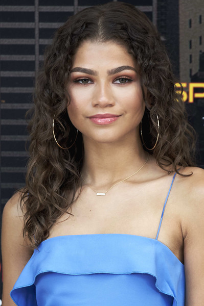 Zendaya Coleman Long Curls