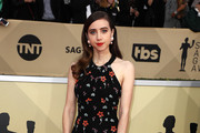 Zoe Kazan Halter Dress