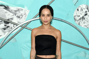 Zoe Kravitz Sheer Skirt