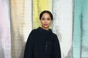 Zoe Kravitz Sweater Dress