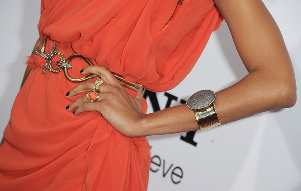 Zoe Saldana Cocktail Ring