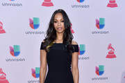 Zoe Saldana Off-the-Shoulder Dress