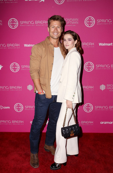 Zoey Deutch Quilted Leather Bag [product,red carpet,carpet,pink,event,fashion,flooring,premiere,magenta,fashion design,zoey deutch,glen powell,destination education,l-r,los angeles,california,city year,sony studios,spring break]