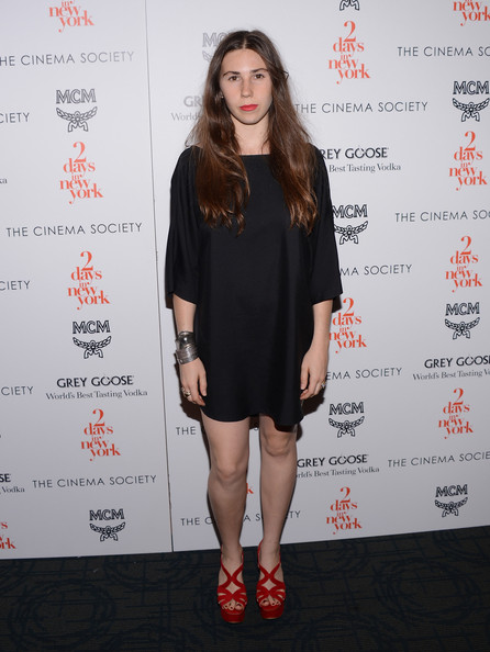 Zosia Mamet Mini Dress
