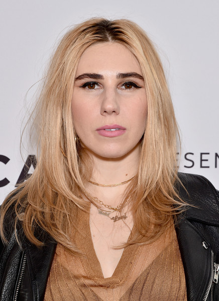 Zosia Mamet Layered Cut [the boy downstairs premiere,hair,face,blond,hairstyle,eyebrow,lip,layered hair,long hair,beauty,chin,zosia mamet,new york city,sva theatre,tribeca film festival,the boy downstairs premiere]
