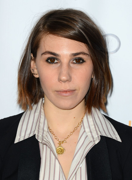 Zosia Mamet Short Side Part [zosia mamet,television academy presents an evening with ``girls,hair,face,hairstyle,eyebrow,beauty,layered hair,lip,chin,long hair,blond,california,hollywood,leonard goldenson theatre]
