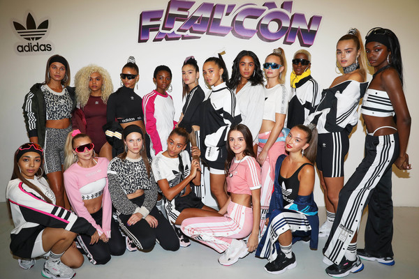 More Pics of Hailey Bieber Sports Pants (1 of 28) - Sports Pants Lookbook - StyleBistro [social group,event,team,shoe,sneakers,hailey baldwin,jd,adidas,models,fashion,falcon,jd present falcon fashion presentation,fashion show,hailey rhode bieber,adidas,shoe,adidas,sneakers,fashion,adidas superstar,hat,trousers]