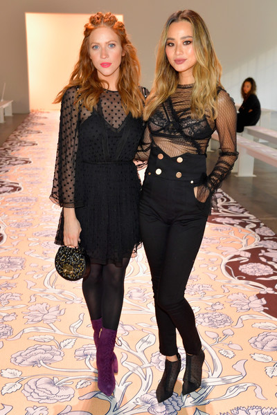 Brittany Snow and Jamie Chung at alice McCALL