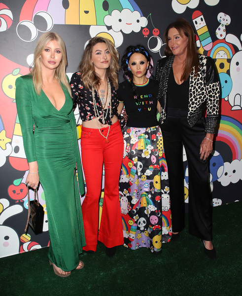 More Pics of Paris Jackson Long Wavy Cut (2 of 33) - Paris Jackson Lookbook - StyleBistro [event,fashion,fashion design,party,style,stacey bendet,caitlyn jenner,paris jackson,sophia hutchins,l-r,hollywood athletic club,hollywood,alice olivia,friendswithyou collection la launch party,launch party]