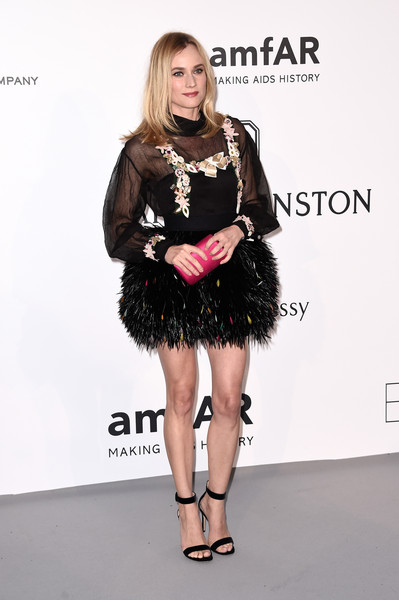 Diane Kruger at amfAR's 22nd Cinema Against AIDS Gala