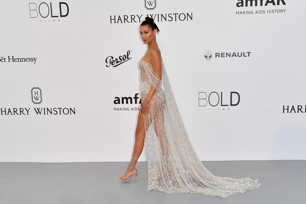 Bella Hadid in Ralph and Russo Haute Couture
