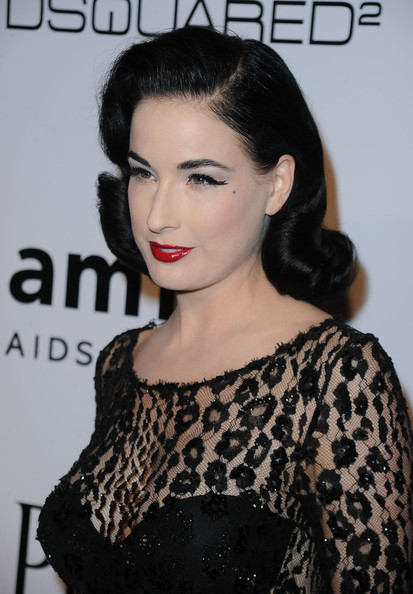 39ea091bce9f More Pics of Dita Von Teese Red Lipstick (3 of 12) - Dita Von Teese Lookbook  - StyleBistro