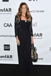 Sarah Jessica Parker managed to make a jumpsuit look demure in this vintage number.