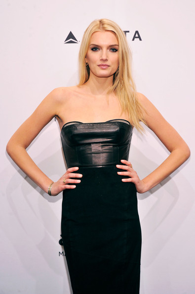 More Pics of Lily Donaldson Leather Dress (3 of 3) - Leather Dress Lookbook - StyleBistro